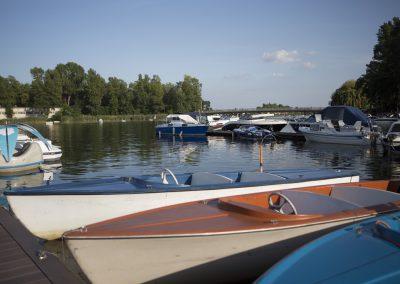 Restaurant Zum Schinakl - Elektroboote Auzinger Boote