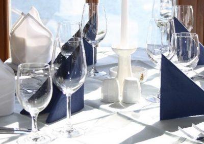 Restaurant Zum Schinakl - Tischkultur