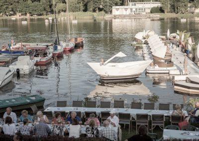 Restaurant Zum Schinakl - Impression am Wasser