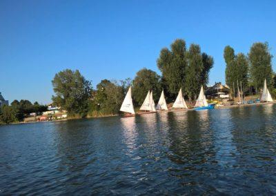 Alte Donau Segelboote